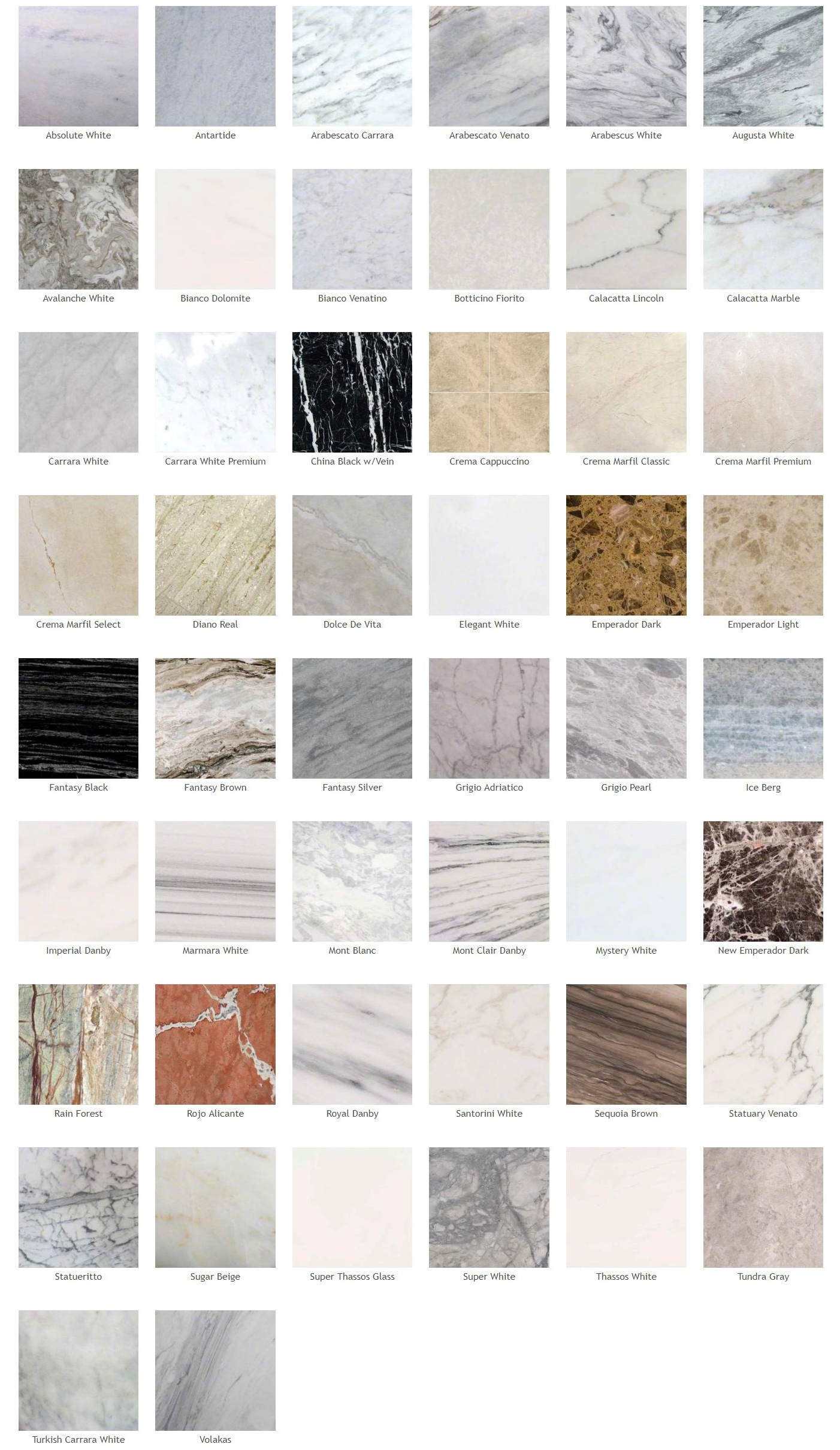 Marble Colors Real Group Construction Inc